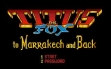 logo Emulators TITUS THE FOX : TO MARRAKECH AND BACK [ST]